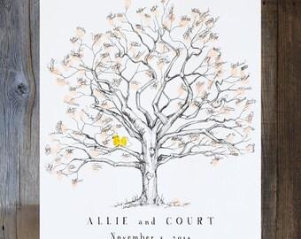 Guest Book Alternatives & Custom Artwork The Original by bleudetoi