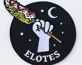 "Elotes Patch - Mexican Street Corn - 3""x3"""
