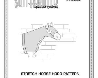 PDF Stretch Horse Hood Pattern