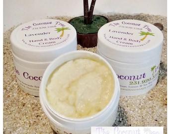 Pain Relief Body Cream / Coconut Oil / Olive Oil / Shea Butter / Cocoa Butter / Aloe Vera / Vitamin E
