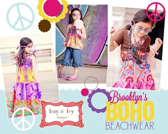Brooklyn's Boho Beachwear pattern
