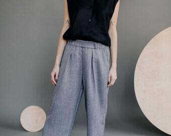 FIGURE 12 /wool linen culottes/
