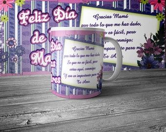 Dia de las madres taza