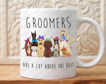 Dog Groomers gift, Groomers mug, Gift for Pet Groomers, Pets gift, Dog lovers gift, gift for groomers, Animal lovers,Groomer,Coffee Mug gift