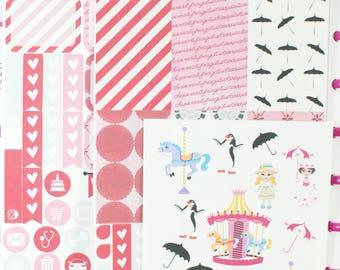 Spoonful of Sugar-Happy (MAMBI) Planner Sampler Kit (NF193) High Gloss, Semi-Gloss, Matte Planner Stickers