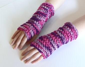 Fingerless Gloves, Gloves For Typing, Arm Warmers, Crocheted Fingerless Gloves, Wrist Warmers, Hand Warmers