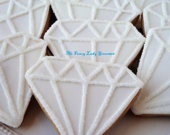Diamond bling cookies 1 dozen