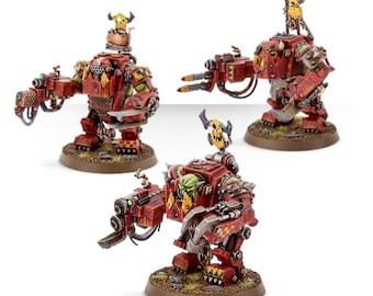 Warhammer Ork Meganobz (multipart) wargames