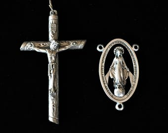 XL Rosary Crucifix and Center