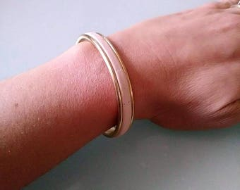 Mina leather bracelet / small size