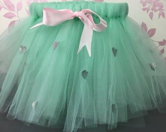 Mint tutu, Tutu Skirt, Cake Smash, Birthday outfit, Tutu, tutu, birthday tutu, first birthday outfit, flower girl