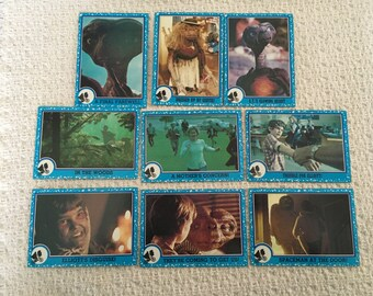 ET Collectible Cards, Topps ET Cards, 1982 ET Cards, Collectible Cards, Topps Cards