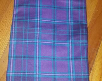 Purple Flannel Plaid