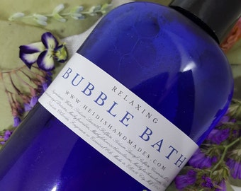 Bubble Bath - Choose Your Scent - Relaxing Bubble Bath