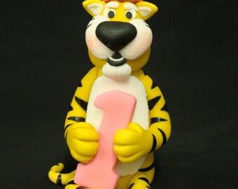 Tiger Birthday Topper