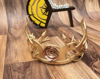Margaery Tyrell tiara replica cosplay costume crown. Game of thrones - 1:1 scale Cosplay - 3D Printed