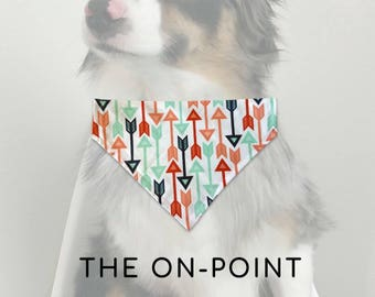 1 SMALL LEFT - The On-Point - Reversible Over the Collar Dog Bandana