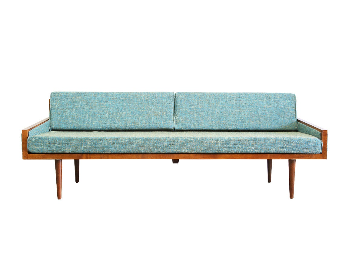 Mid Century Modern Daybed with arms Casara Modern Executive