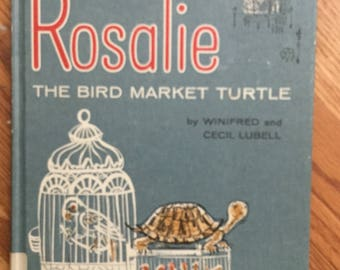 Rosalie the Bird  Market Turtle