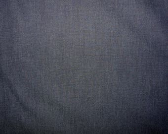 Fabric - Blue lightweight woven non-sretch denim