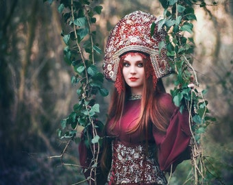 Dress & Headpiece  ''RUSSIAN TSAREVNA''