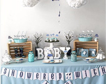 Perfect Showered With Love,Winter Baby Shower ...