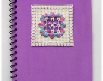 Hardanger stitcher's notebook kit