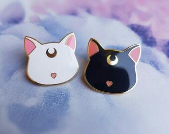 FACTORY SECONDS - Moon Cat set - Hard enamel Pins