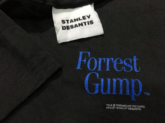 Vintage Made words shirt big condition gump Excellent spell good L in Size shirt Forrest usa rvqxWT1r