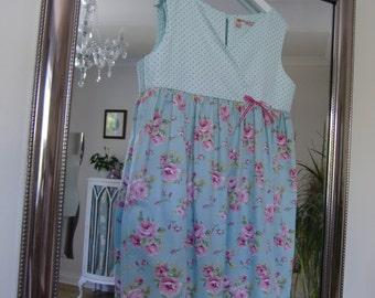 Kerenza Cross Front Dress Girls PDF Sewing Pattern age 2 to 7 years