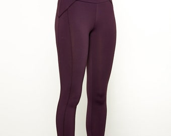 Every Day Leggings in Plum, Black, or Gray