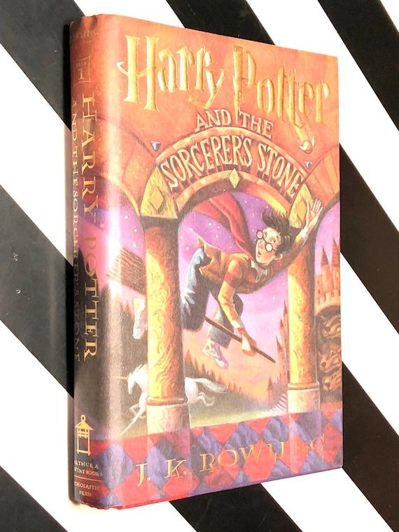 Harry Potter and the Sorcerer's Stone by J. K. Rowling (1998) hardcover book