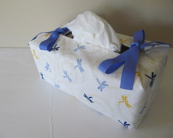 Tissue Box Cover/Dragonfly
