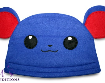 Pokemon Marill Hat / Fleece Hat / Winter Hat / Pokemon Hat / Pokemon Fleece Hat / Video Game Characters
