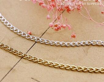 3.3 feet Nickel Free - High Quality 2.5x3.5mm  Chains (VB01)