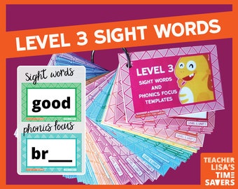 VIPKid Level 3 Sight Words and Phonics Focus