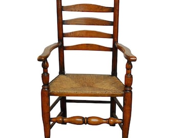 Merveilleux Quick View. 19th Century English Ladder Back Chair