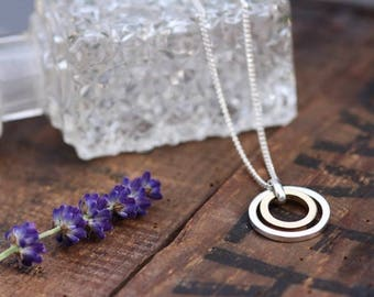 Silver and Gold In 2 You Necklace