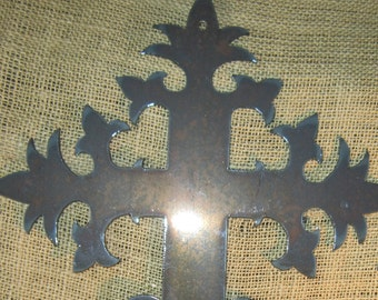 French Cross-Metal Art