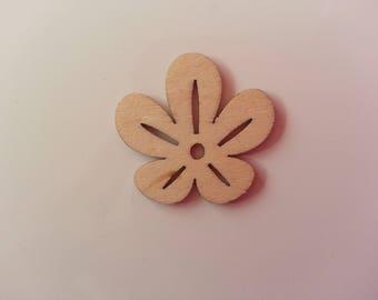 feuille en bois  naturel 30mm