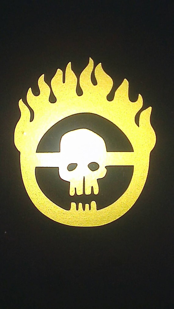 Immortan joe insignia from mad max fury road vinyl sticker