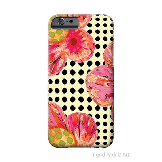 Bloom - Floral iPhone 7 case - By Ingrid Padilla