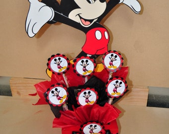 Mickey Mouse Centerpiece Cutouts Mickey Mouse Party Cake