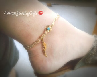 catcher beach bracelet ankle loading foot image dream chain is itm feather jewelry anklet s indian