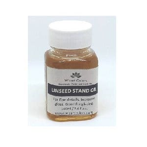 Wizart Colors Linseed Stand Oil for oil painting medium