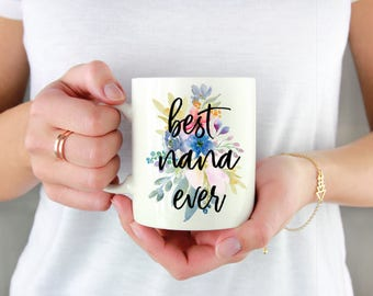 Mothers Day Gift - Mother's Day gift for Grandma -  Gift Under 15 - Coffee Mug - Gift for Coffee Lover - Nana Gift - For Her