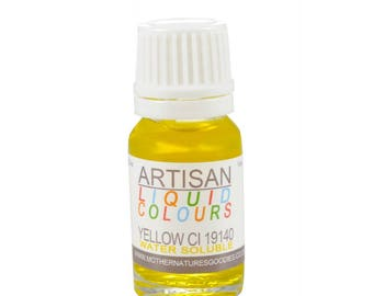 YELLOW Colour (CI 19140) Yellow for Soaps, Creams and Candles