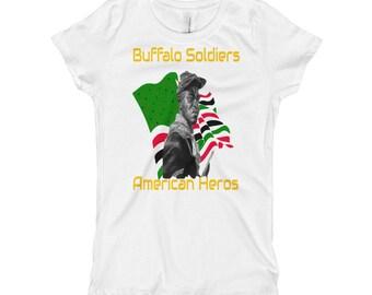 Buffalo Soldiers Girl's T-Shirt