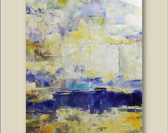 Original Abstract Painting Contemporary Painting 16x20 Palette Knife Modern Art Wall Art Original Painting Made to Order Painting