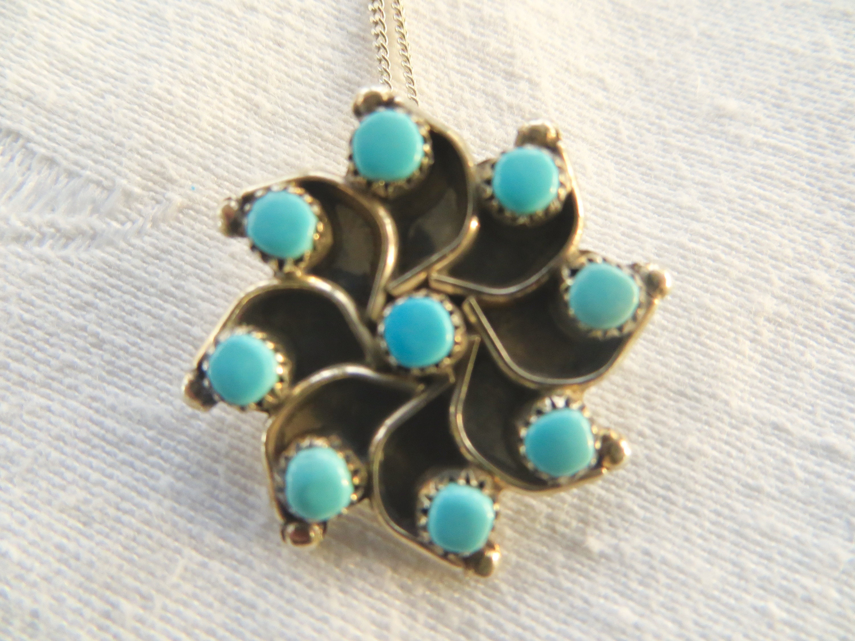 dainty pin coral pendant my addition share sterling turquoise the etsy latest choker to zuni shop excited handmade inlay